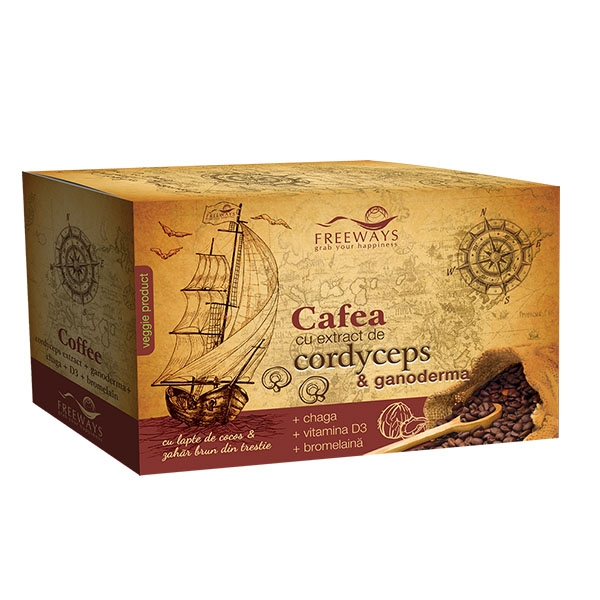Poza Cafea terapeutica cu extract de Cor