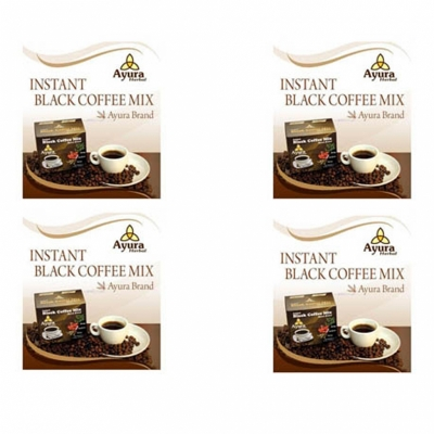 Poza Instant black coffee Ayura herbal c