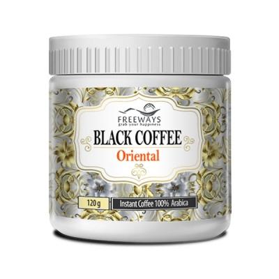 Poza Instant Black Coffee Oriental 120gr